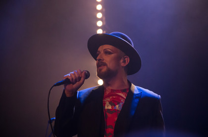 """This Is What I Do"" - Fotos: Boy George live im Gloria Theater in Köln"