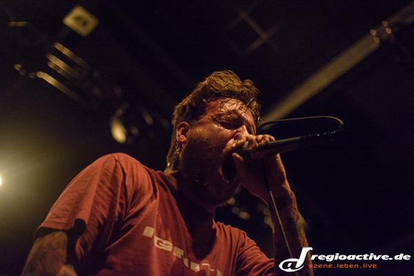 Neues Album in der Hinterhand - Fotos: Stick to Your Guns live im Schlachthof Wiesbaden