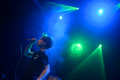 Ze german Wunderkinders - Fotos: The Tidal Sleep live im Schlachthof Wiesbaden